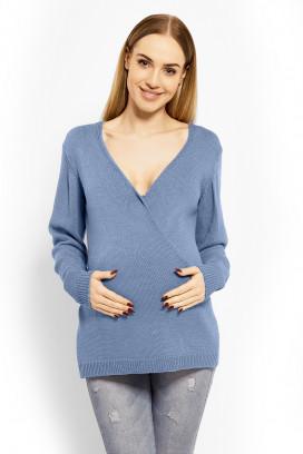 Tehotenský sveter model 113199 pB