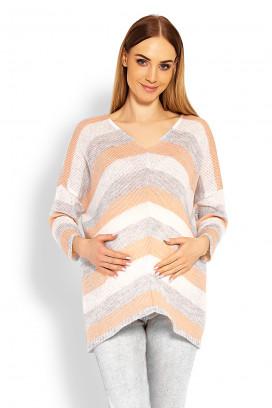 Tehotenský sveter model 114524 pB