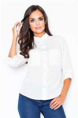 Dámska košeľa model 43749 fl