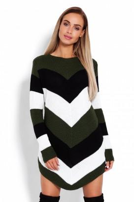 Dlhý sveter model 122916 pb