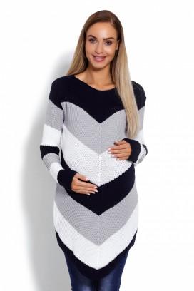 Tehotenský sveter model 122938 pB
