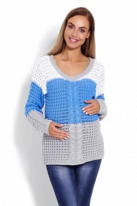 Tehotenský sveter model 123469 pB