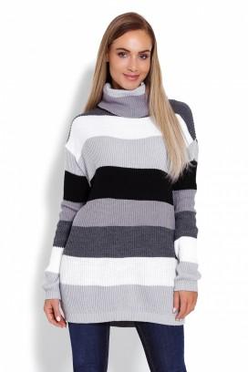 Dlhý sveter model 123475 pb
