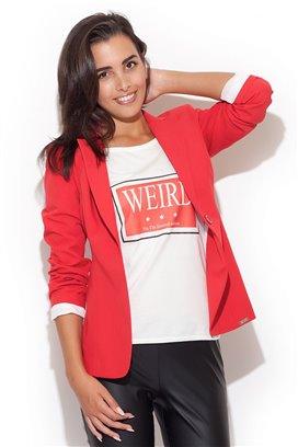 Červené sako
