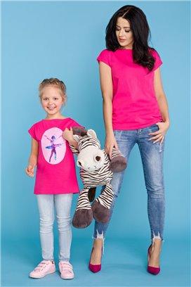 MMM20-2 Ružové tričko - mama
