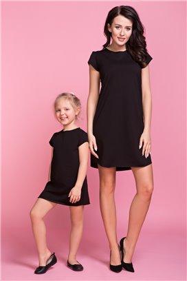 Šaty 2 čierna - mama