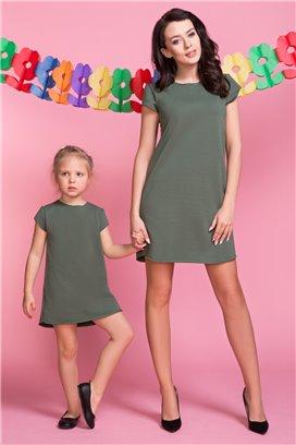 Šaty 2 zelená - mama