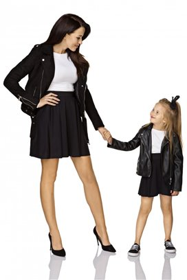 Sukňa čierna - mama
