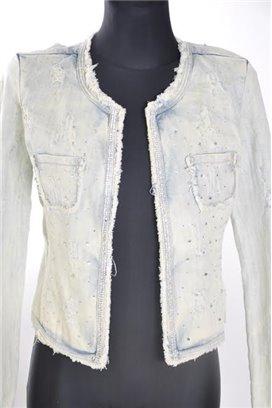 Jeansová bunda S3SS