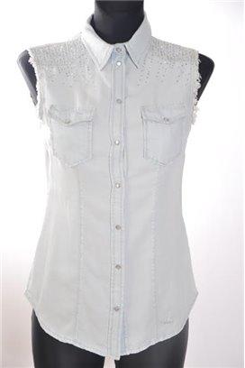 Liu Jo jeansová košeľa
