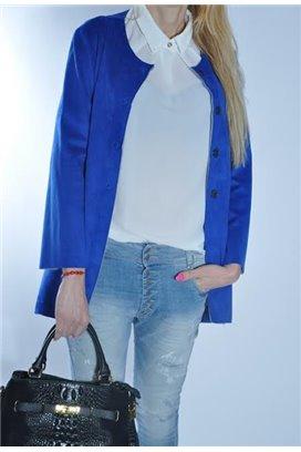 Modrý kabátik
