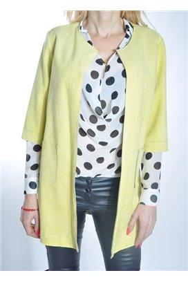 Žltý kabátik