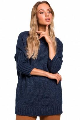 Granátový sveter model 135432 Me