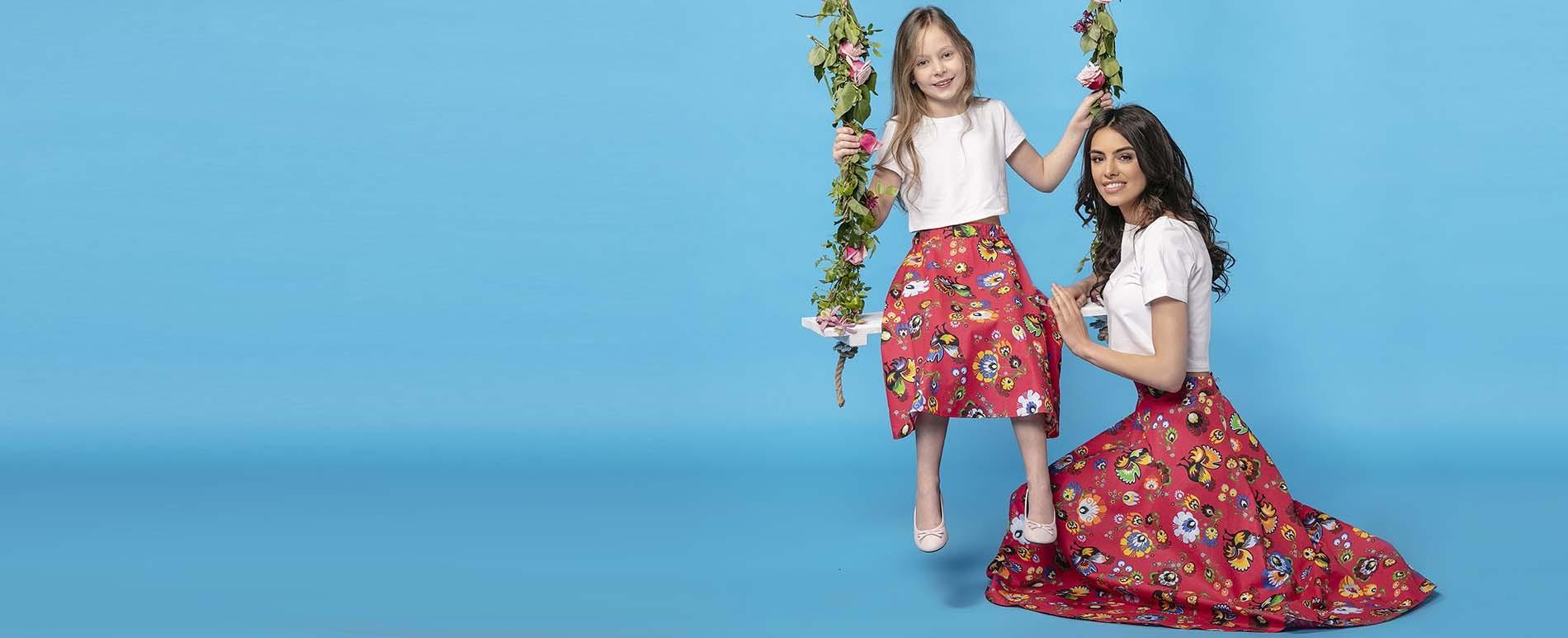 Kolekcia oblečenia pre mamu a dcérku. Klikni sem!